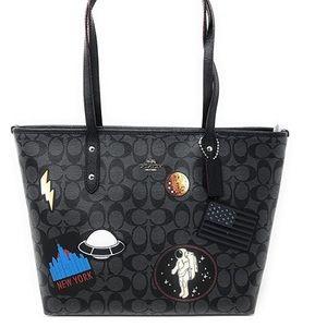 Coach NASA Limited edition tote bag